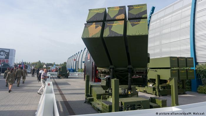 NASAMS Raketensystem