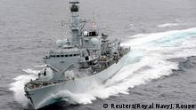 Kriegsschiff Royal Navy Type 23 Fregatte HMS Montrose