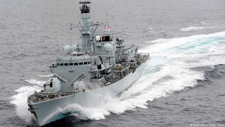 UK says Iran tried to intercept British tanker | News | DW
