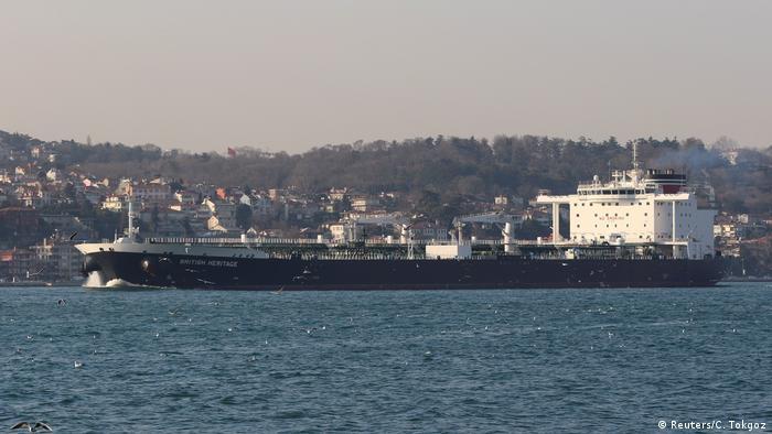 Öltanker British Heritage Bosporus Istanbul (Reuters/C. Tokgoz)