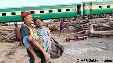 Pakistan | Zugunglück in Sadiqabad