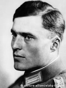 Claus von Stauffenberg / Foto um 1934 (picture-alliance/akg-images)
