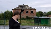 Juli 2019 *** von DW-Korrespondent Ukraine Mykola Berdnyk. Bildergalerie An der Frontlinie im ukrainischen Donbass: Stanyzia Luhanska 7_nahaduwannja_pro_wijnu