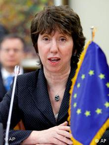 European Union foreign affairs chief Catherine Ashton