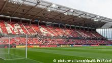 Opel-Arena Mainz; Mainzelmännchen-Tribüne, Südtribüne, 11.06.2019, Mainz, Fußball, Männer, Länderspiel, Deutschland-Estland, DFB/DFL REGULATIONS PROHIBIT ANY USE OF PHOTOGRAPHS AS IMAGE SEQUENCES AND/OR QUASI-VIDEO. | Verwendung weltweit