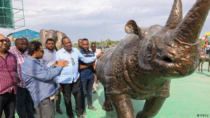 The Kibarani dump site in Mombasa is being turned into a park