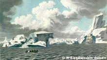 Gemälde Eisinseln von Mikhailov Pavel Nikolaevich