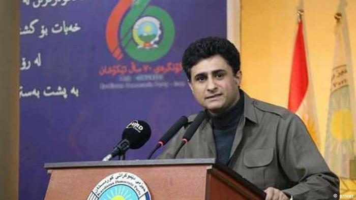 آسو حسنزاده، سخنگوی دفتر سیاسی حزب دموکرات کردستان