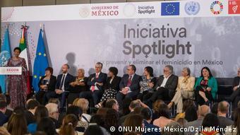 Die Spotlight Initiative wurde im Mai in Mexiko vorgestellt