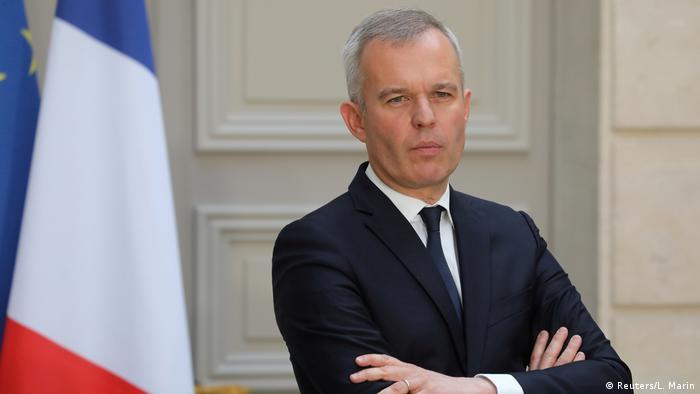 Frankreich François de Rugy, Umweltminister