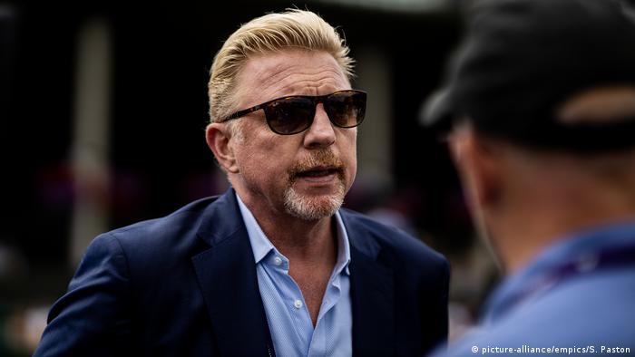 Boris Becker in sunglasses