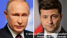 Wladimir Putin und Wolodymyr Selenskyj