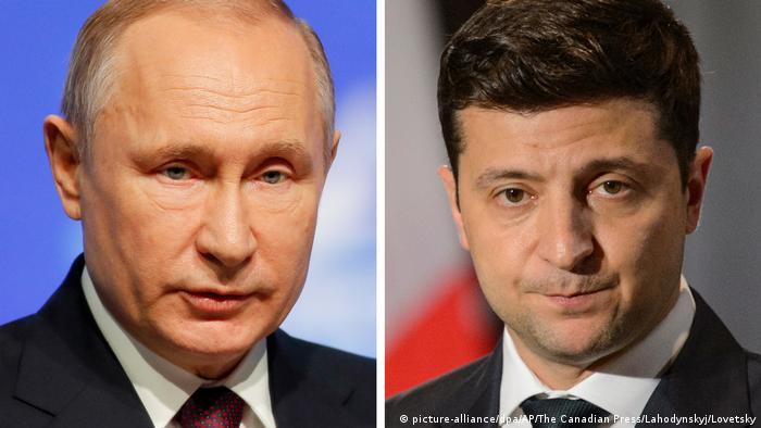 В Киеве сочли, что Зеленский не может ехать в Москву для встречи с Путиным  | Новости из Германии об Украине | DW | 24.04.2021