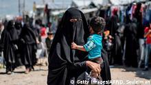 Syrien Flüchtlingslager al-Haul