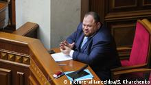Ukraine Parlament Verkhovna Rada Ruslan Stefanchuk