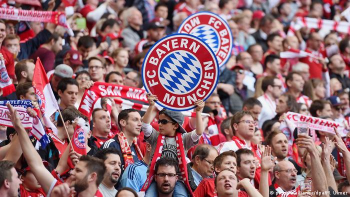 Torcida do Bayern de Munique