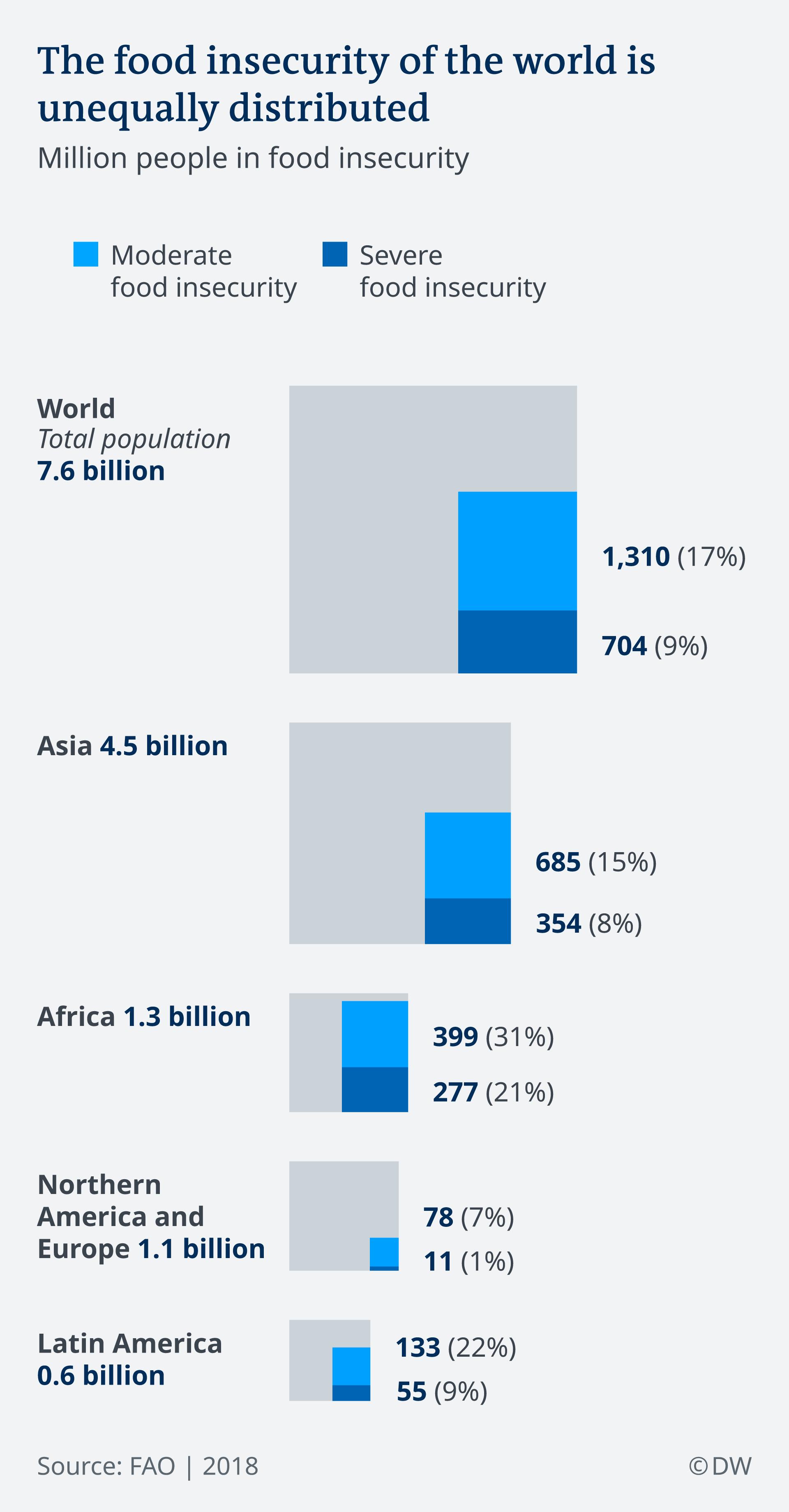 Infografik Ernährungsunsicherheit EN