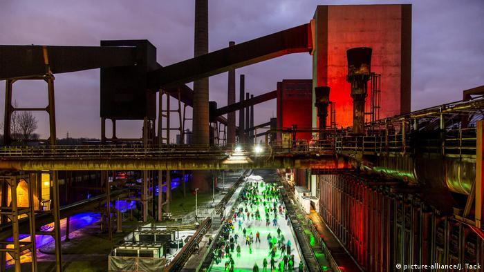 The Zollverein Coal Mine Industrial Complex in Essen