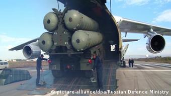 Türkiye Rusya'dan satın aldığı S-400 sistemlerini iki hafta önce test etmişti.