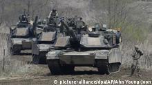 USA genehmigen Waffengeschäft mit Taiwan Abrams-Panzer