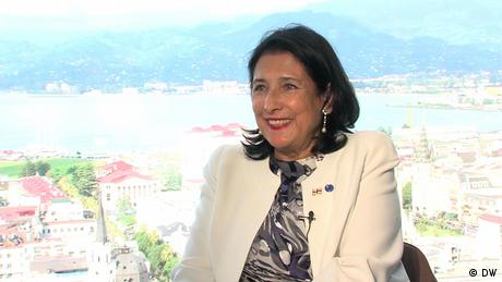 DW interview with Georgian President Salome Zurabishvili (DW)