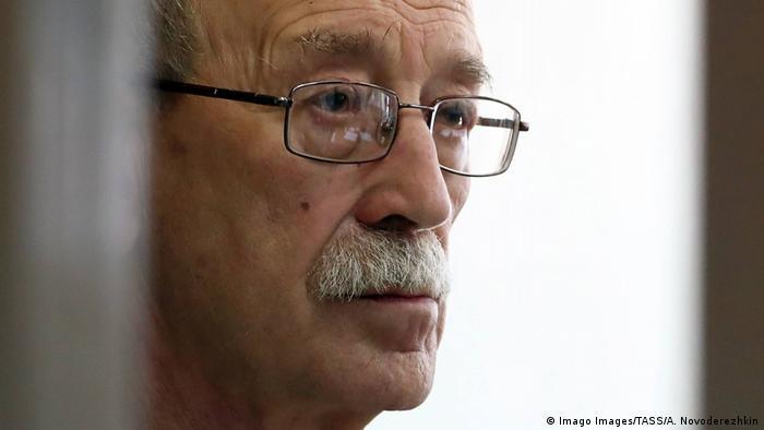 Виктор Кудрявцев на скамье подсудимых
