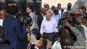 Mosambik UN-Generalsekretär Antonio Guterres in Beira
