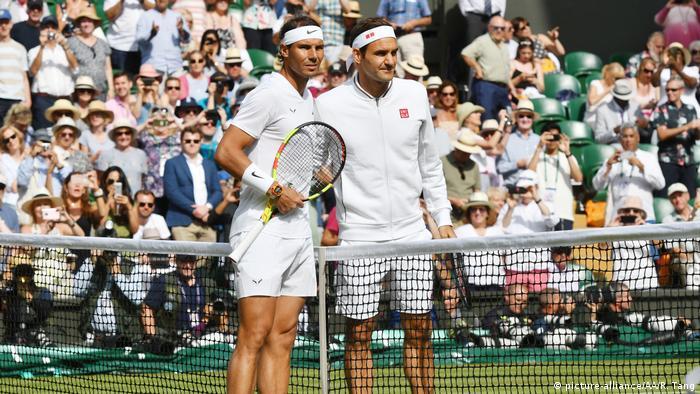 Wimbledon 2019 | Roger Federer - Rafael Nadal (picture-alliance/AA/R. Tang)