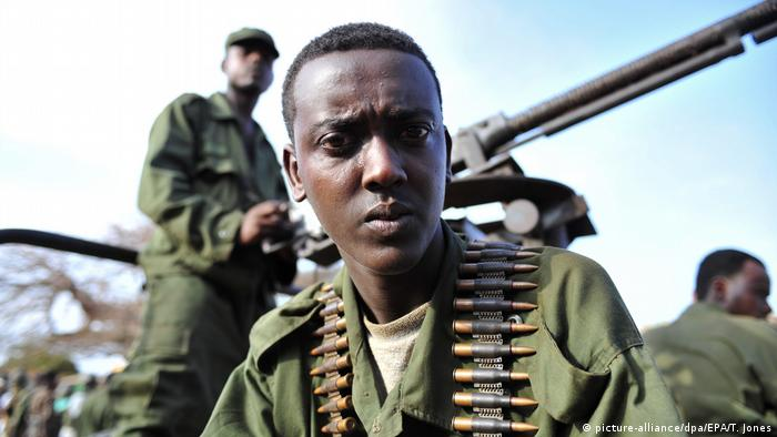 Somalien Nationale Armee in Kismayo (picture-alliance/dpa/EPA/T. Jones)