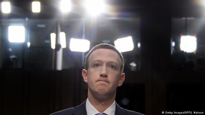 Facebook-Chef Mark Zuckerberg (Getty Images/AFP/J. Watson)