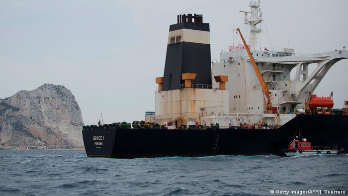 Supertanker Grace 1 NEU (Getty Images/AFP/J. Guerrero)