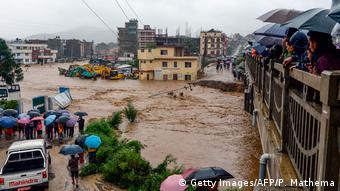 Nepal'in başkenti Katmandu