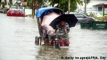 Indien Monsun in Agartala