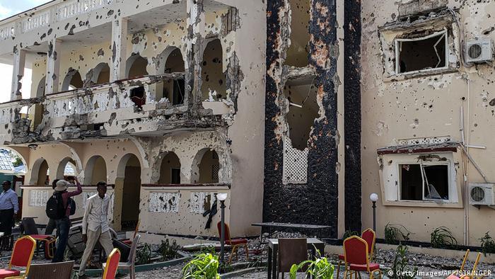 Somalia Angriff auf Hotel in Kismayo