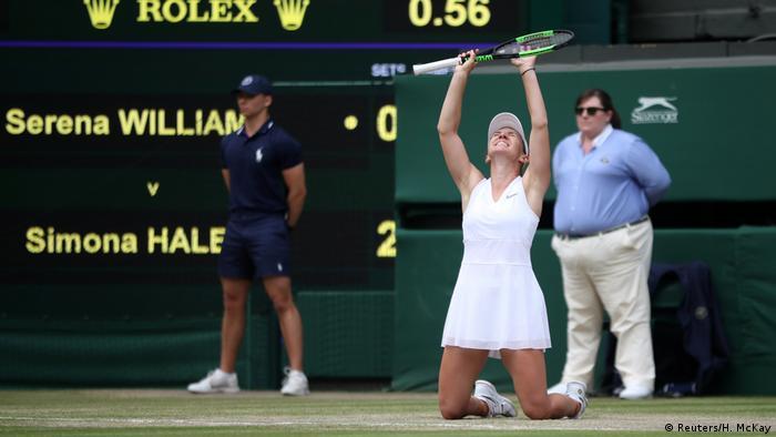 Tennis Wimbledon Siegerin Simona Halep