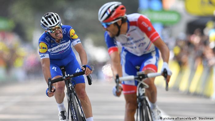 Tour de France 8. Etappe Julian Alaphilippe und Thibaut Pinot