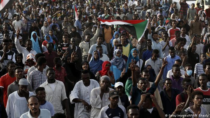 Sudan   Demonstration in Khartoum