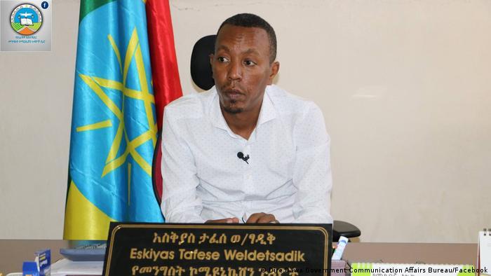 Äthiopien Eskiyas Tafese Leiter für Regierungskommunikation