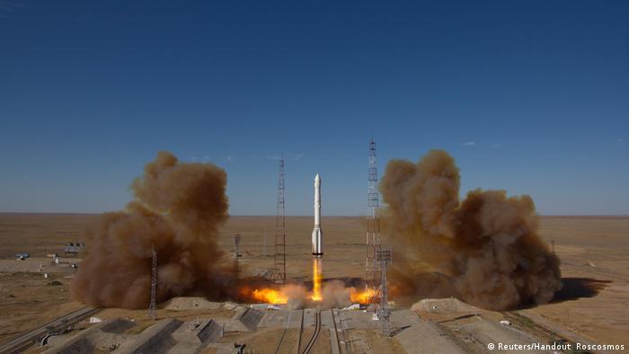Lançamento do observatório espacial russo Spektr-RG, tendo a bordo telescópio de raios X alemão eROSITA