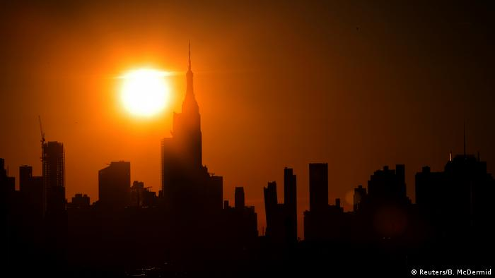 USA, New York: Chaos nach Stromausfall (Reuters/B. McDermid)