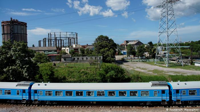 Cuba's new Chinese-made train cars