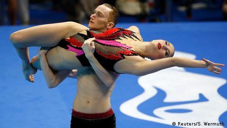 BdTD - Südkorea Schwimm Weltmeisterschaften | Synchronschwimmen (Reuters/S. Wermuth)