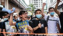 Hong Kong | Proteste in Sha Tin