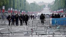 Frankreich | Gelbwestenproteste am Nationalfeiertag