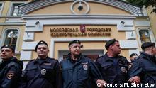 Russland | Proteste in Moskau