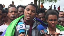 Getahun Deguye, Sidama Youth group called Ejetto representative Wo: Hawassa, Ethiopia Wann: 14.07.2019 Author: Shewangizaw Wegayehu