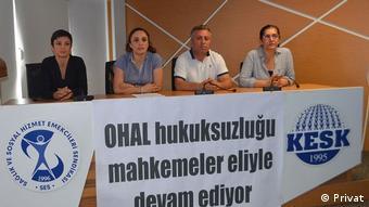 Türkei SES Gewerkschaftsvertreter