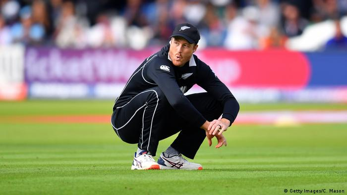 ICC Cricket World Cup Finale 2019 Neuseeland - England Martin Guptil (Getty Images/C. Mason)