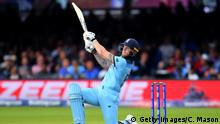 ICC Cricket World Cup Finale 2019 Neuseeland - England Ben Stokes (Getty Images/C. Mason)