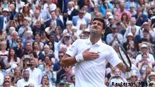 Wimbledon 2019 | Finale Novak Djokovic - Roger Federer